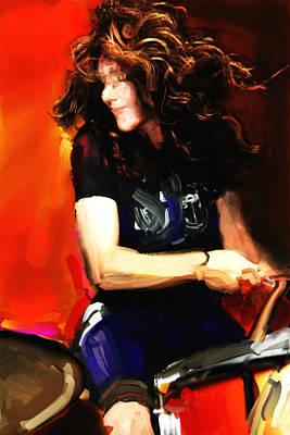 Michelle Mangione Art Print by James VerDoorn