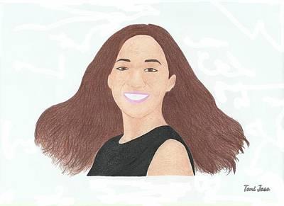 Michelle Phan Art Print
