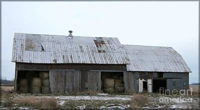 Photograph - Michigan Barn by Kathie Chicoine