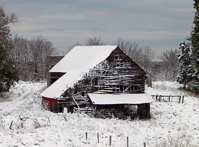 Photograph - Michigan Barn by Patrick Murphy