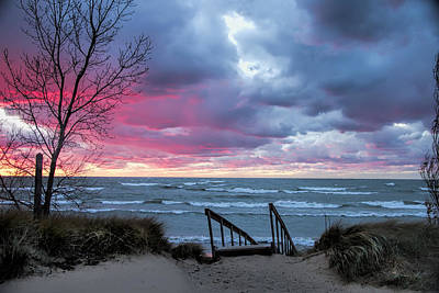 Photograph - Michigan Beach Douglas Saugatuck by Evie Carrier