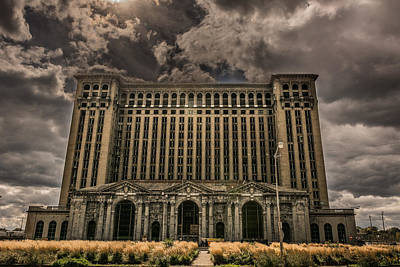 Photograph - Michigan Central Station by Pravin  Sitaraman