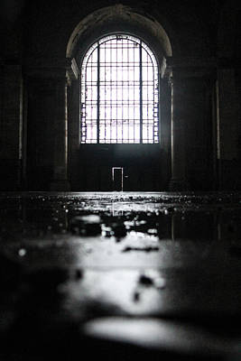Photograph - Michigan Central Station Window  by John McGraw