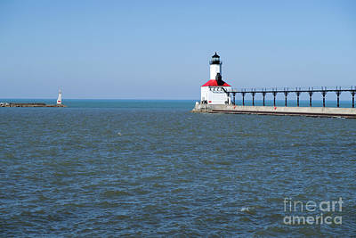 Photograph - Michigan City Lighthouse by Ann Horn