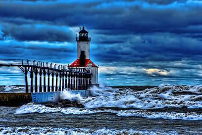 Michigan City Lighthouse Art Print