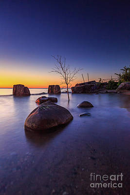 Photograph - Michigan Cove by Andrew Slater