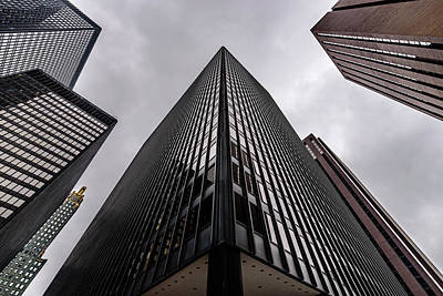 Photograph - Michigan Plaza by Randy Scherkenbach