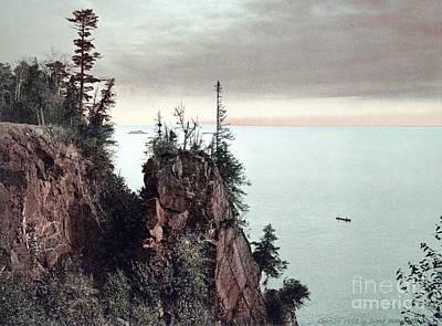 Photograph - Michigan, Presque Isle, 1898. by Granger