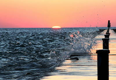 Photograph - Michigan Summer Sunset by Bruce Patrick Smith