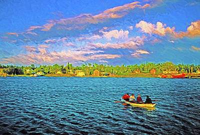 Digital Art - Michigan's Beaver Island by Dennis Cox Photo Explorer
