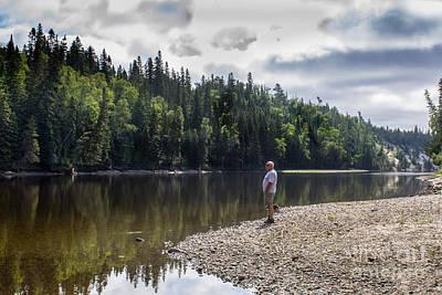 Wall Art - Photograph - Michipicoten Canoe Route 2 by Marj Dubeau