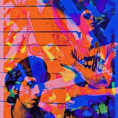 Digital Art - Mick And Joe by Anne Thurston