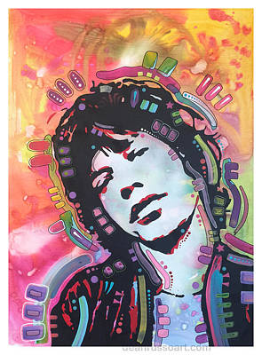 Painting - Mick by Dean Russo