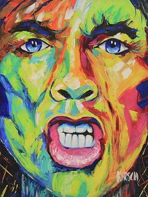 Carlos Santana Painting - Mick Jagger #3 by Robert Kirsch
