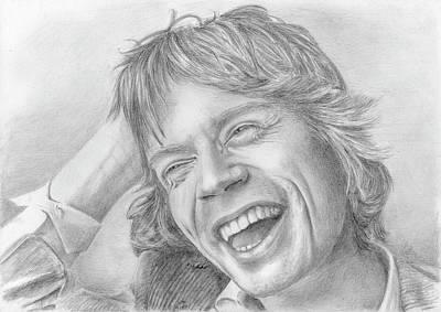 Mick Jagger Original by Bitten Kari