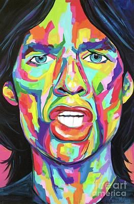 Mick Jagger Original by Carrie Milburn