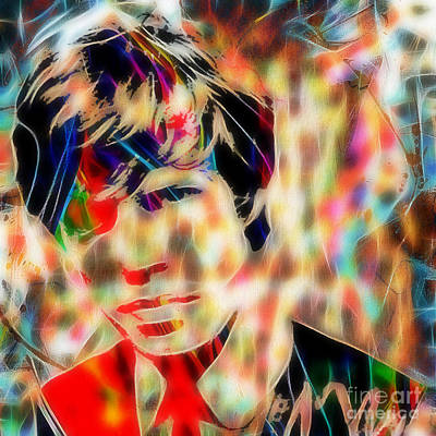 Mick Mixed Media - Mick Jagger Collection by Marvin Blaine