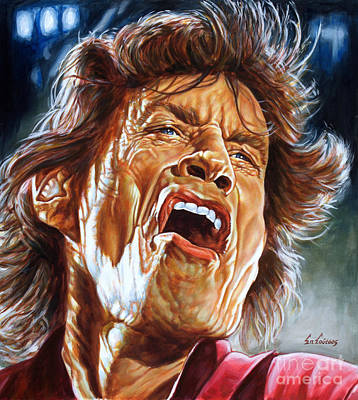 Mick Jagger - Rolling Stones Original by Spiros Soutsos