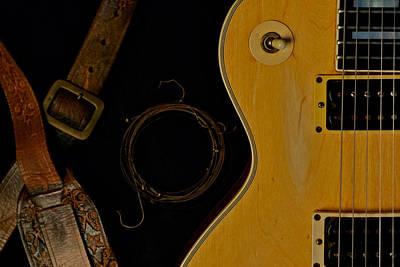 Mick Ronson 1968 Gibson Les Paul Custom  Art Print