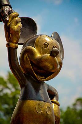 Mickey And Walty Art Print