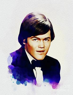 Music Paintings - Mickey Dolenz, Music Legend by Esoterica Art Agency