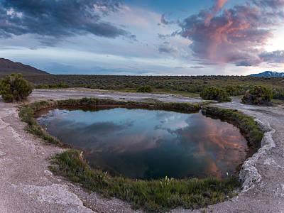 Photograph - Mickey Hot Pool by Leland D Howard