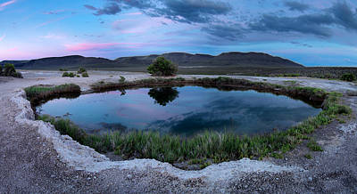 Photograph - Mickey Hot Springs 3 by Leland D Howard