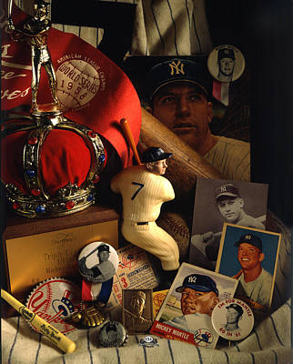Mickey Mantle Photograph - Mickey Mantle by David M Spindel