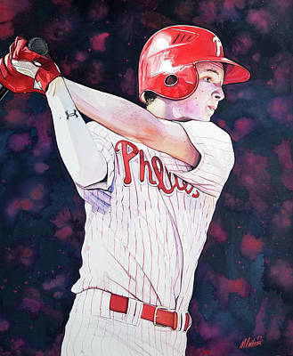 Mickey Moniak Class Of 2016 Art Print