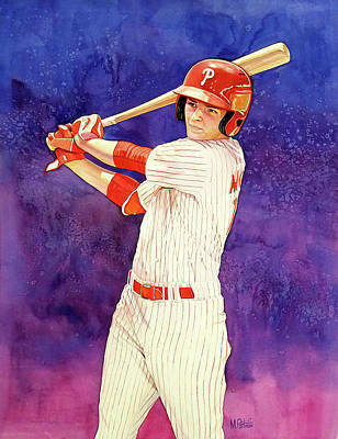 Mickey Moniak Number 1 Pick Art Print