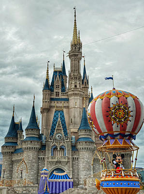 Photograph - Mickey Mouse Disney House by Nikki McInnes