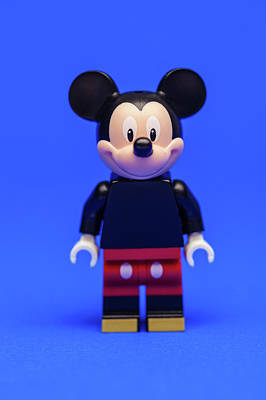 Mice Photograph - Mickey Mouse by Samuel Whitton