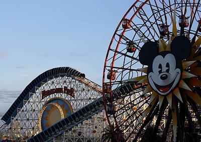 Photograph - Mickey's Wheel by David Nicholls
