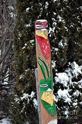 Micmac Photograph - Micmac Totem by William Tasker