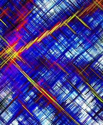 Digital Art - Micro Linear 6 by Will Borden