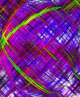 Digital Art - Micro Linear 9 by Will Borden