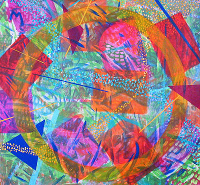 Microcosm Iv Art Print by Rollin Kocsis