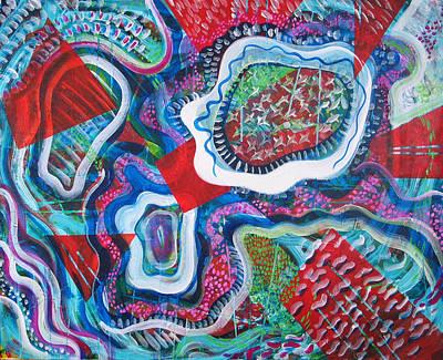 Microcosm Ix Art Print by Rollin Kocsis