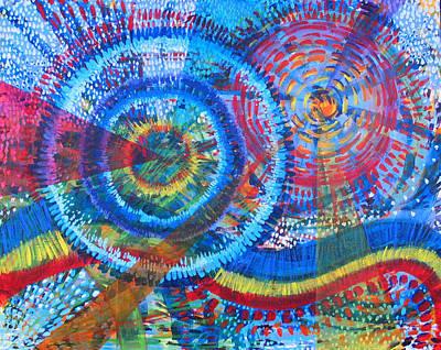 Microcosm V Art Print by Rollin Kocsis
