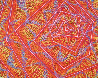 Microcosm Vii Art Print by Rollin Kocsis