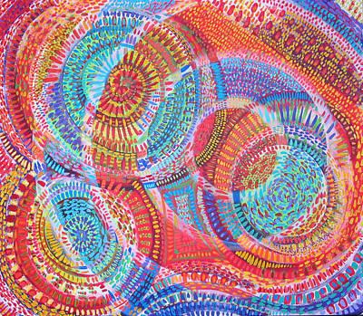 Microcosm Viii Art Print by Rollin Kocsis