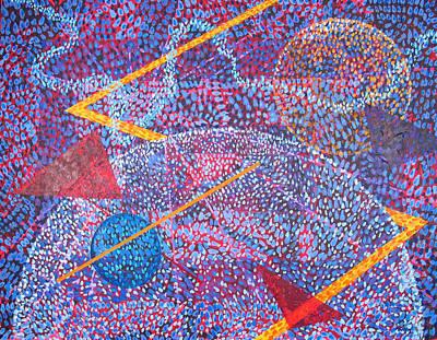 Microcosm Xv Art Print by Rollin Kocsis
