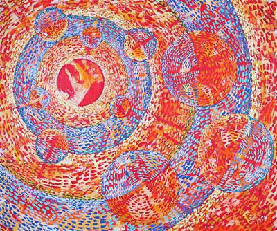 Microcosm Xviii Art Print by Rollin Kocsis