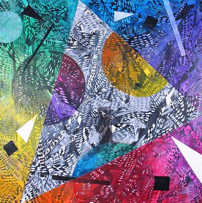 Microcosm Xx Art Print by Rollin Kocsis