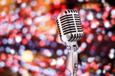 Microphone Art Print