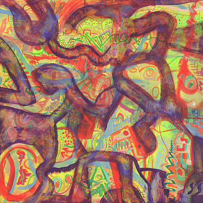 Painting - Microscopia by Scott Steelman