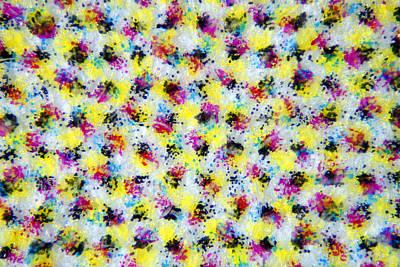 Printing Mixed Media - Microscopic Print 002 by Marcus Kett