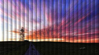 Photograph - Microwave Morning - The Slat Collection by Bill Kesler