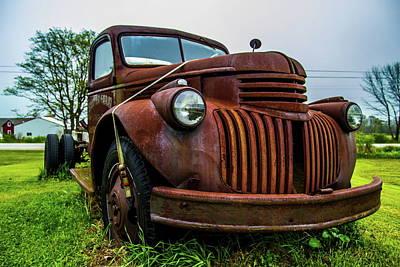 Photograph - Mid 40's Chevy Truck by Chuck De La Rosa