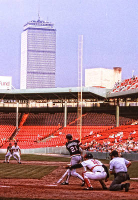 Photograph - Mid 80s Boston Red Sox Game by Mike Martin